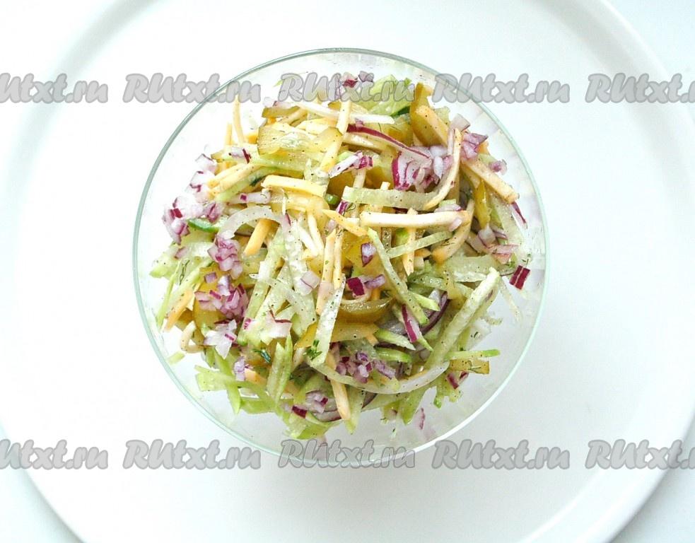 рецепт и фото салата из краба