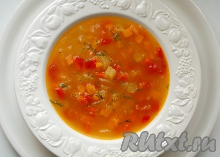 супы из тыквы рецепты с фото простые