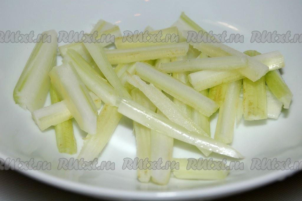 рецепт салата с сельдерей рецепты