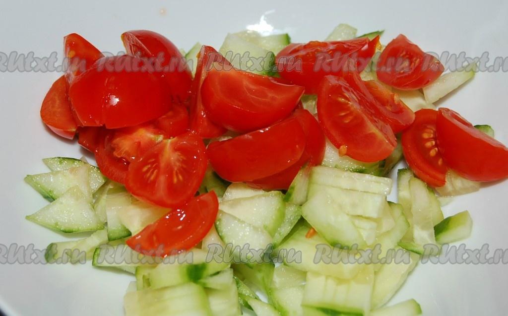 Салат шопский рецепт классический