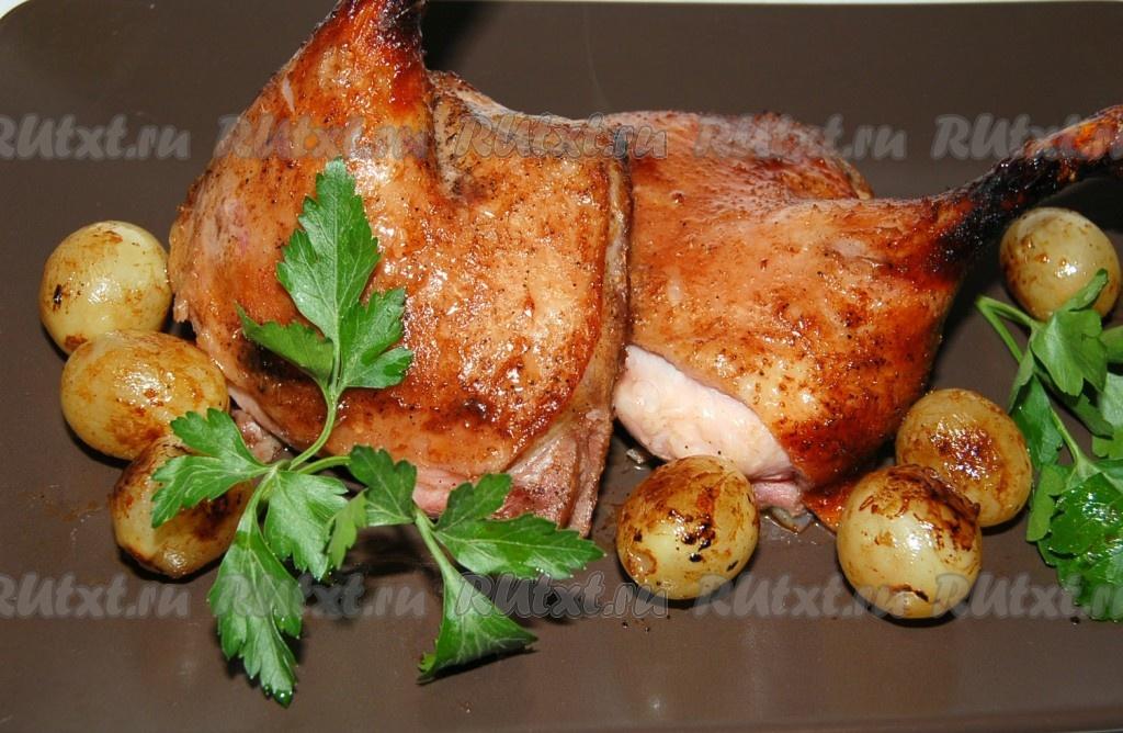 вкусно приготовить утку в фольге в духовке рецепт