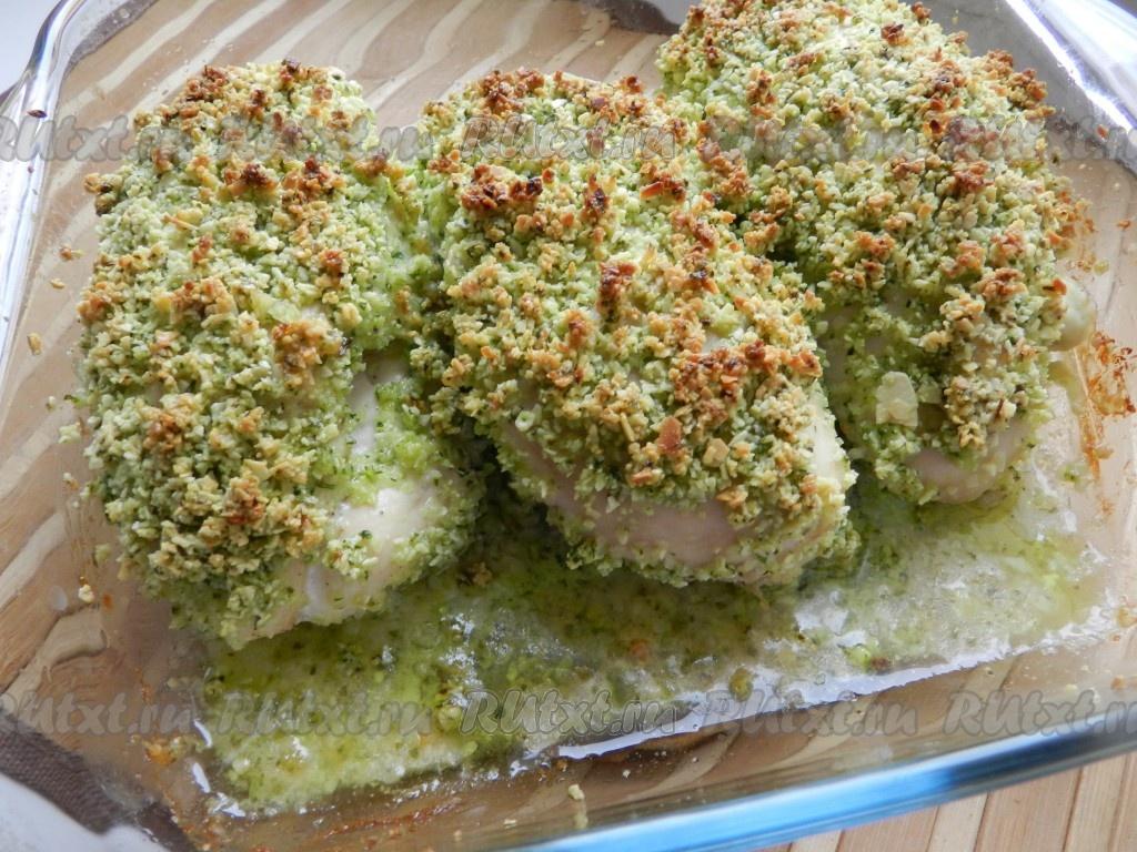 Рецепт куриных грудок с сыром в духовке