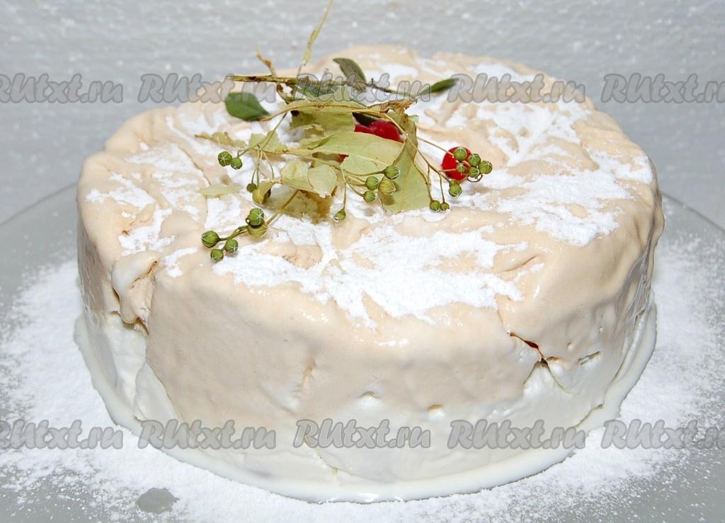 рецепт приготовления вкусного и быстрого торта
