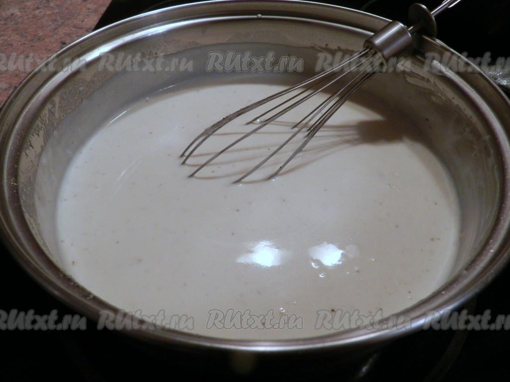 Как приготовить сметанный соус рецепт
