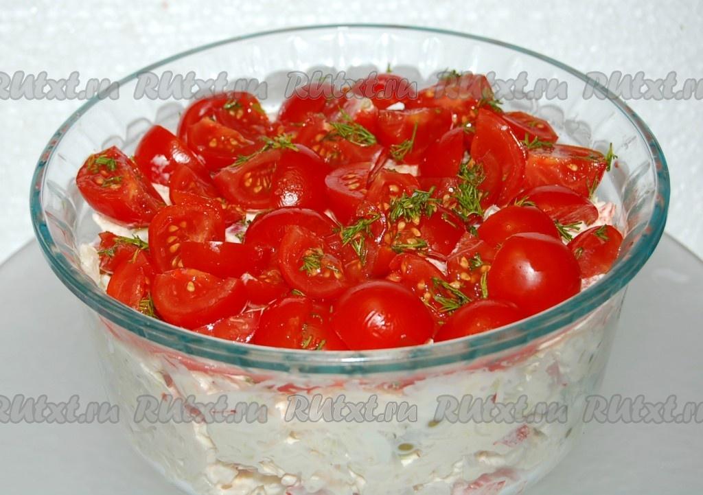 салат красная шапочка фото