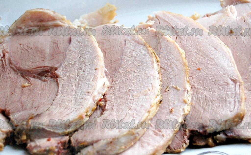 рулет из мясные в духовке рецепт с фото