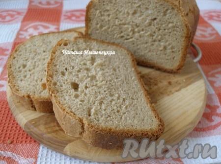 Рецепт ржаного хлеба для хлебопечки
