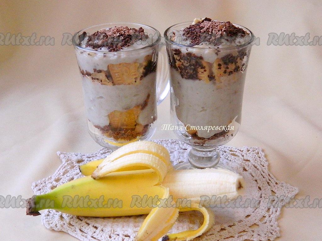 Банановый крем для торта рецепт с фото