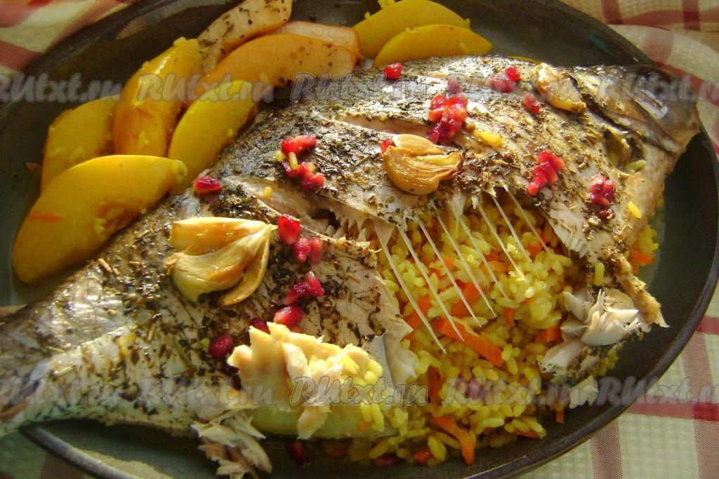 Лещ в духовке рецепт в рукаве