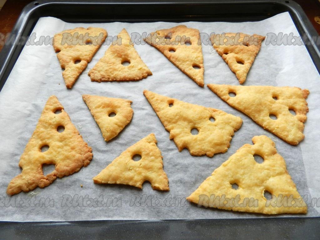 сырные печеньки рецепт