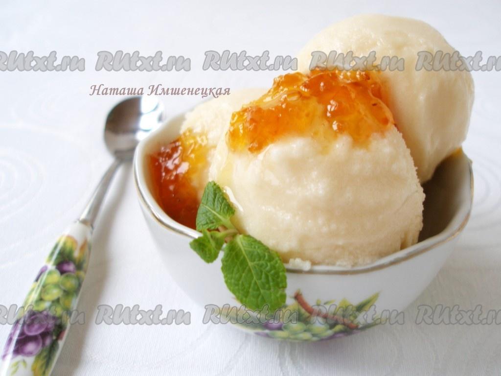 мороженое без сливок рецепты с фото