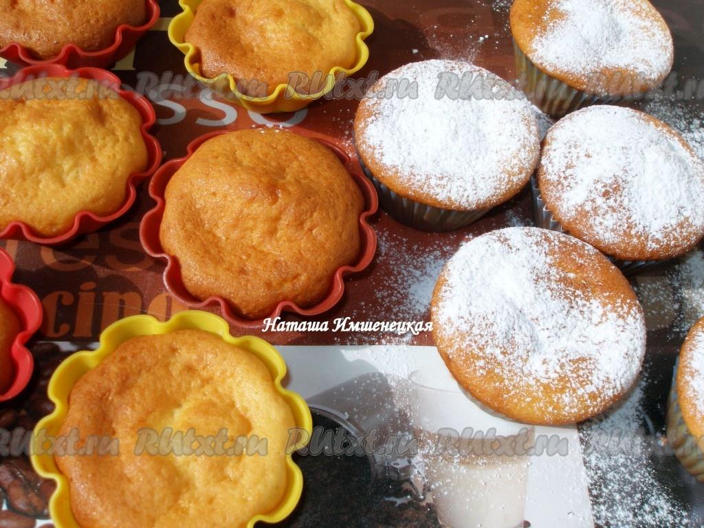 рецепты вкусных творожных кексов