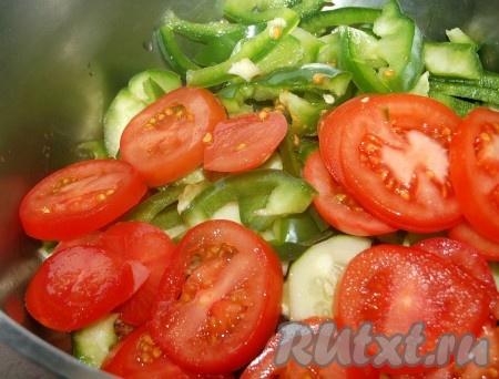 крабовый салат с растительным маслом