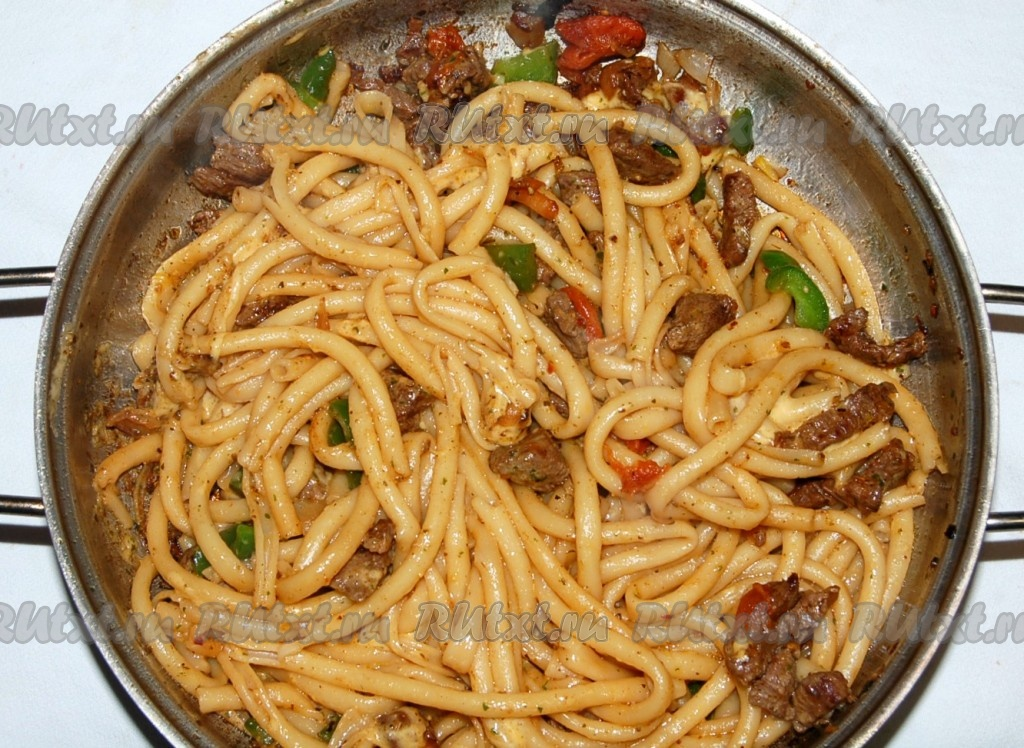 Как вкусно приготовить макароны с мясом в духовке