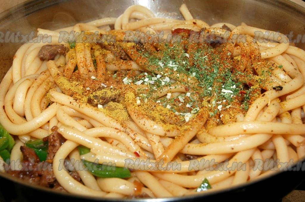 макароны с мясом рецепты с фото
