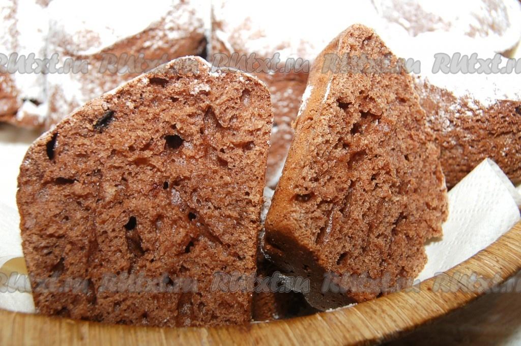 Рецепт пирога с какао порошком с