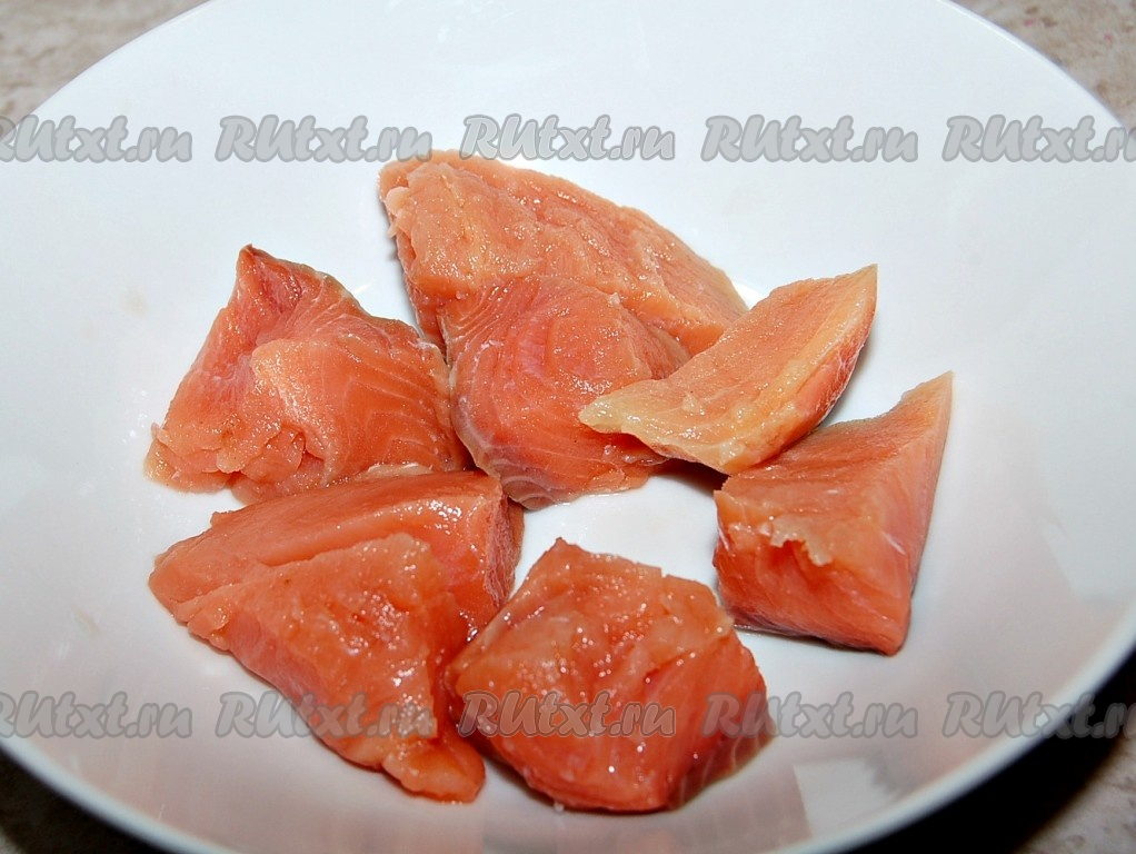 Диетический рецепт горбуши на сковороде