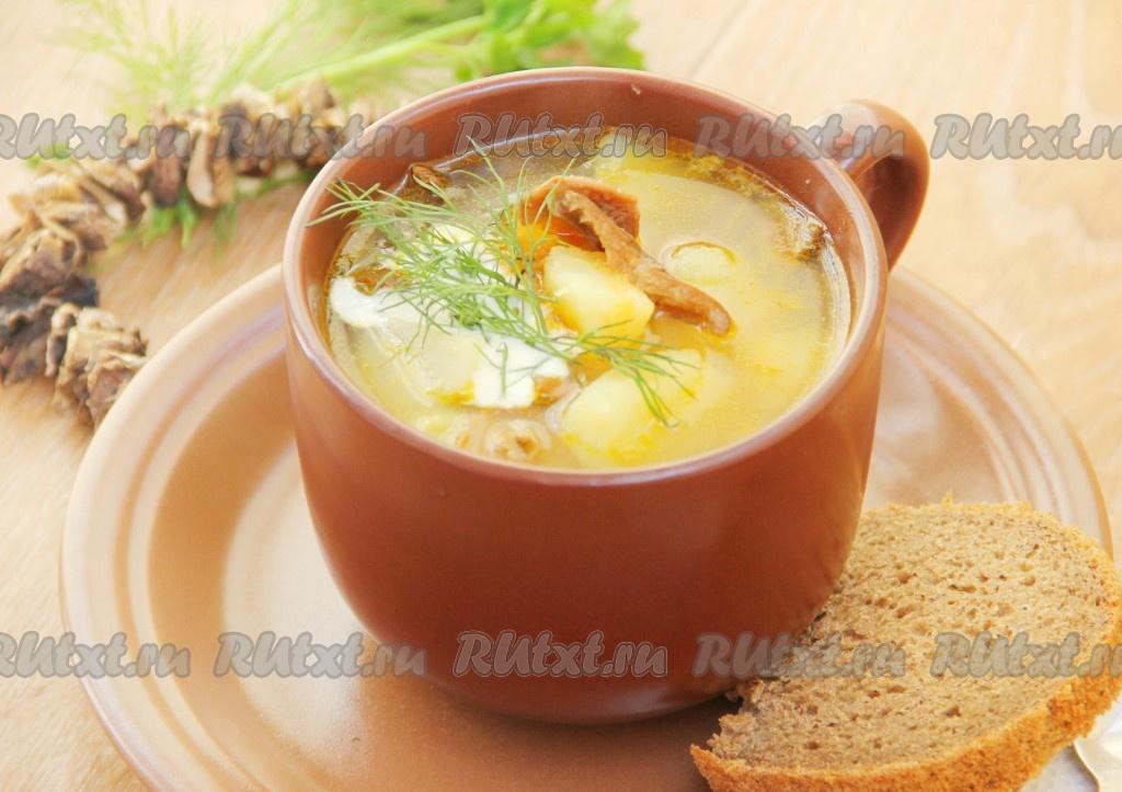суп с грибами и манкой рецепт