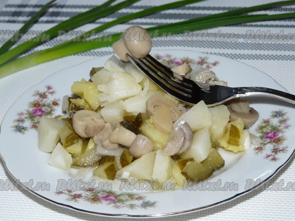 салаты из свеклы и картофеля рецепты с фото