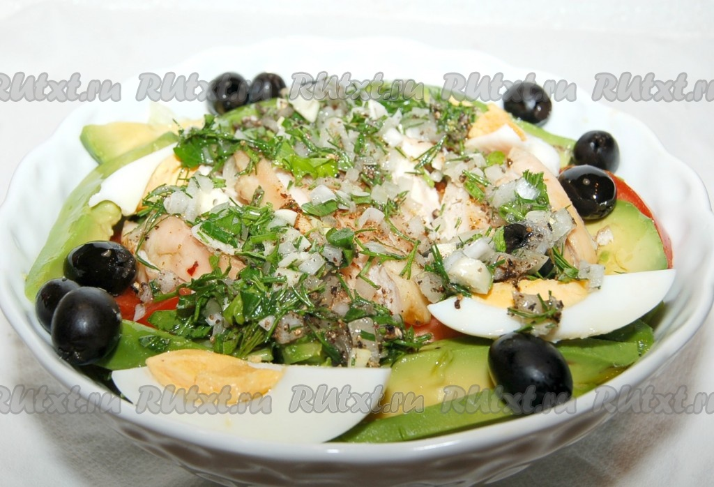 вкусный салат с авокадо рецепты вкусный