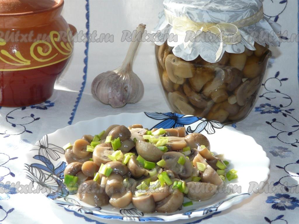 Мариновать грибы в домашних условиях рецепт 320