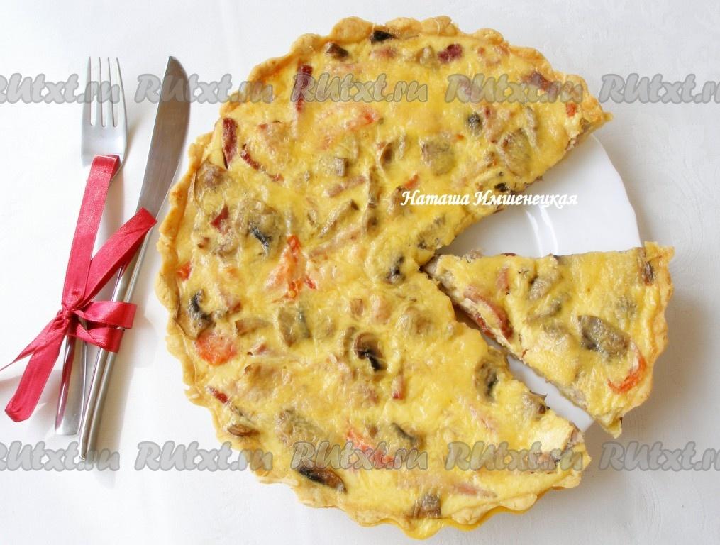 Слоеный пирог с сыром и картошкой рецепт 169