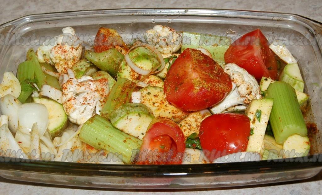 вкусные рецепты овощей запеченных в духовке