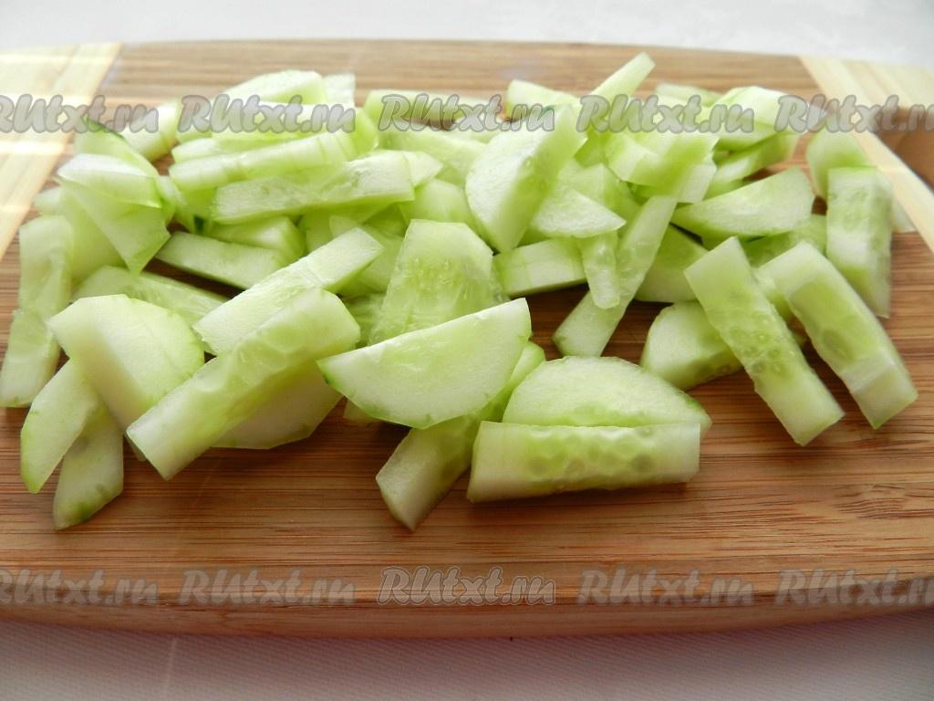 салат весенний из капусты рецепт с фото