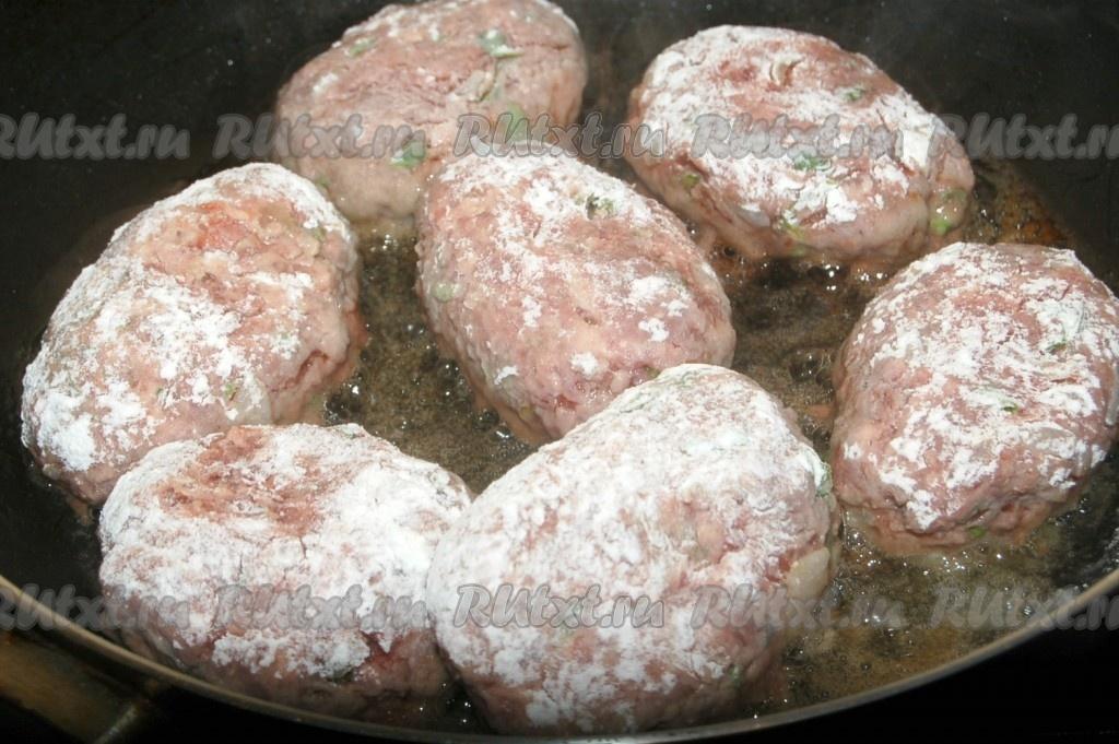 Котлеты из баранины рецепты на сковороде