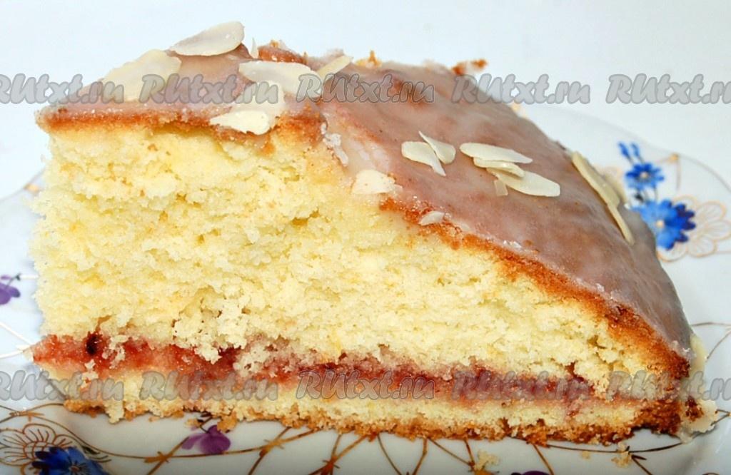 кекс с вареньем рецепт с фото