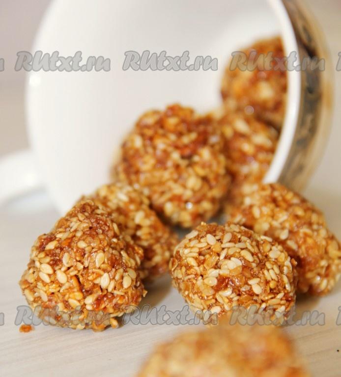 овсяное печенье с кунжутом рецепт