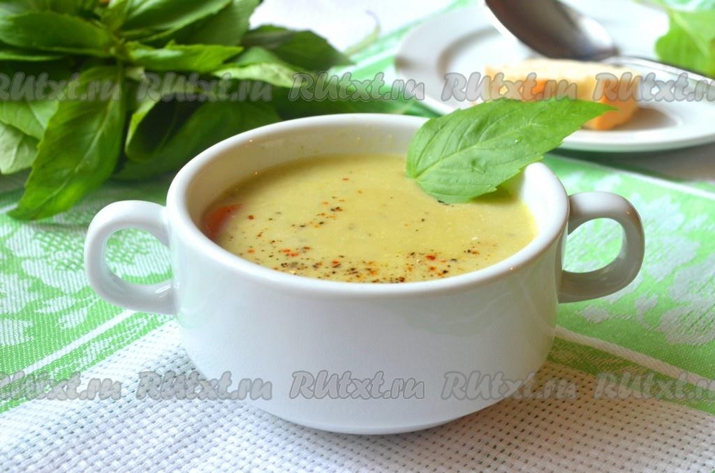 Овощной крем суп рецепт