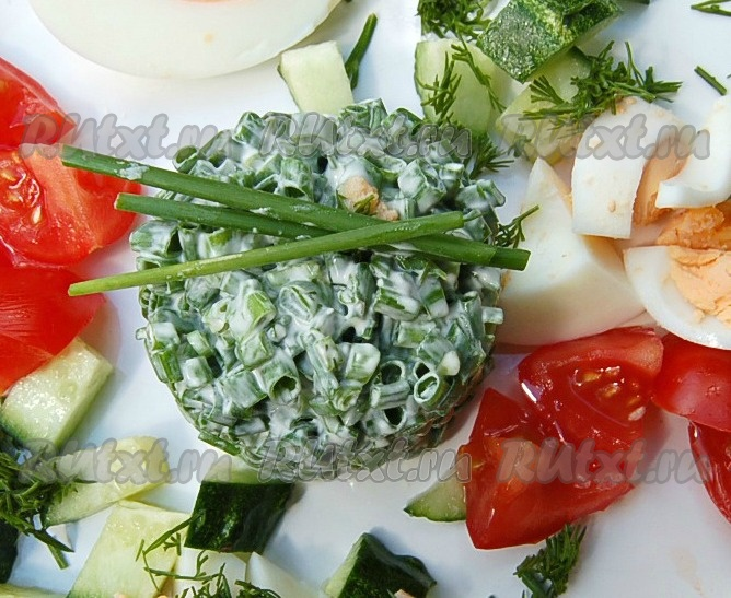 Рецепты салата с адыгейским сыром с фото