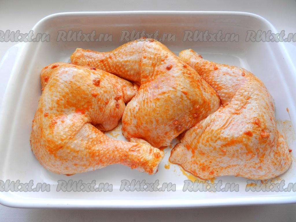 курица в духовке с паприкой рецепт с фото