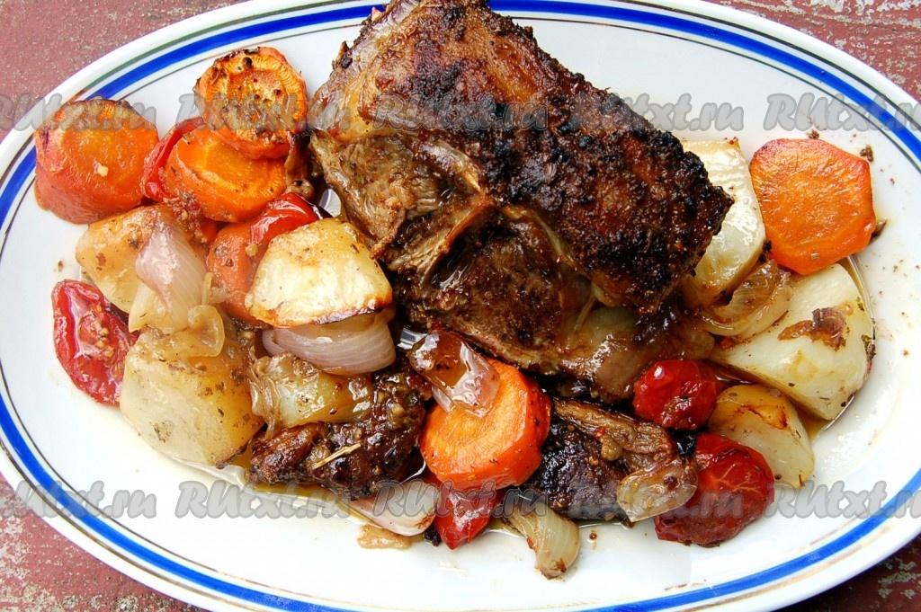рецепты из баранины рецепты в духовке с