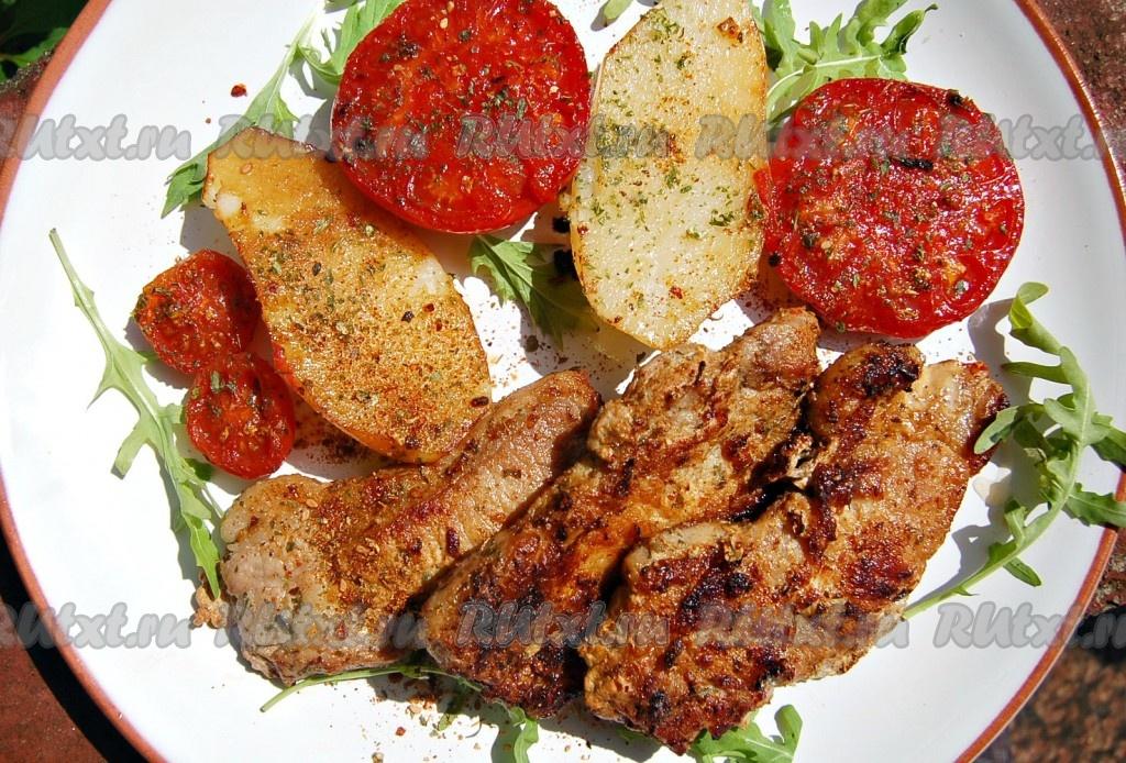 рецепты приготовления мяса свинины с овощами