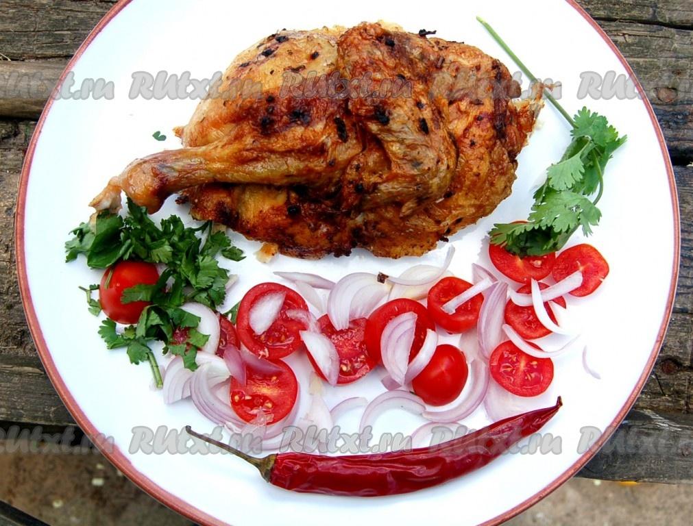 куры гриль рецепт приготовления в духовке
