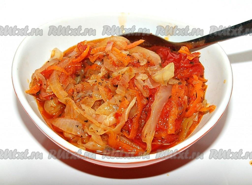 Тушеные овощи - Все рецепты России