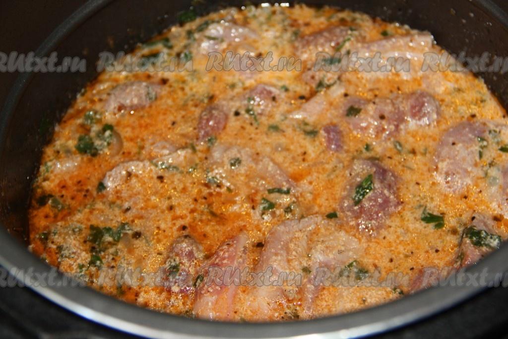 Как приготовить свинину в кефире на сковороде