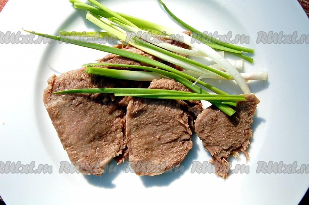 как варить язык говяжий рецепт приготовления с фото