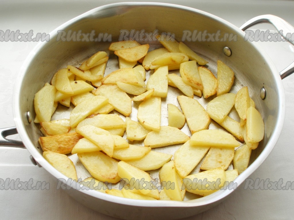 Дешевое блюдо из картошки