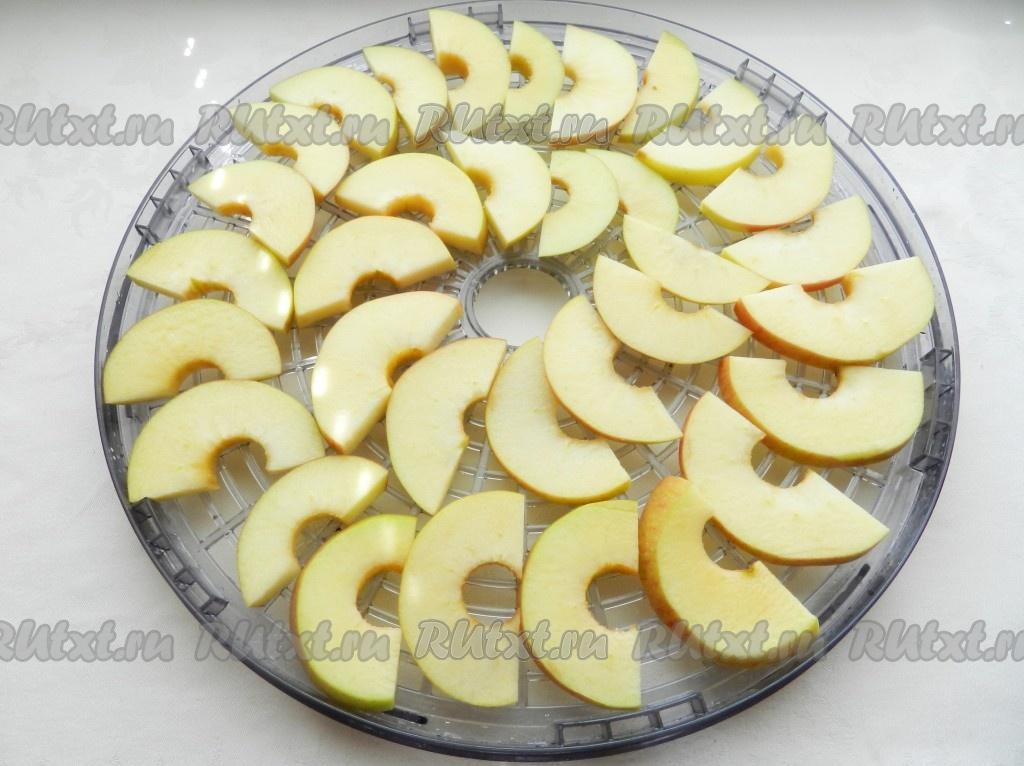 рецепты сушка яблок в духовке