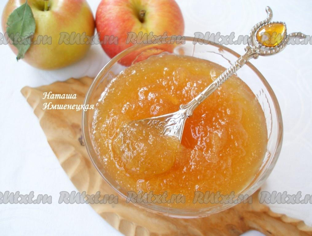 как приготовить вкусный и полезный яблочный джем