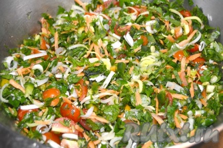Замороженные овощные смеси на зиму своими руками 1