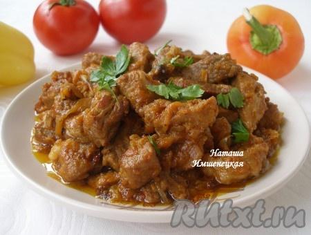 Сочная и ароматная поджарка из свинины, приготовленная по этому рецепту, порадует прекрасным вкусом.