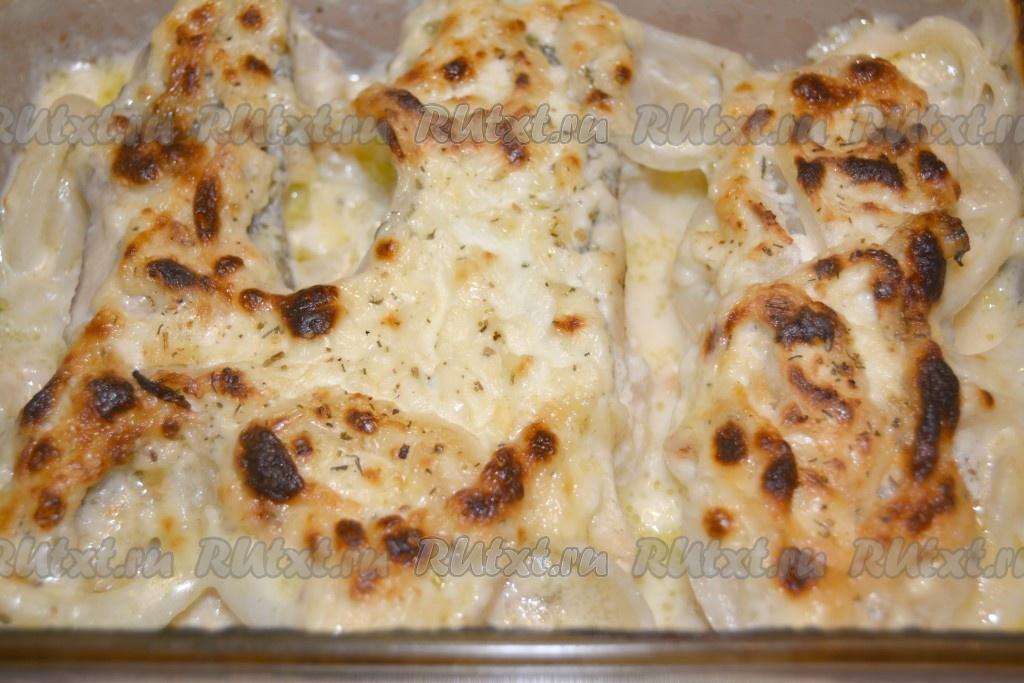 Камбала со сметаной в духовке рецепт
