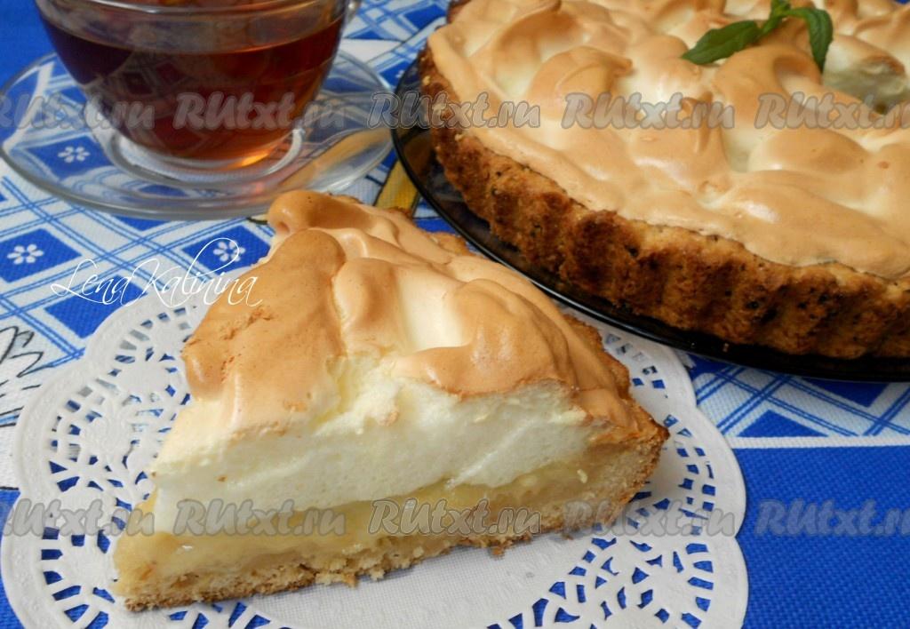пирог из персиков рецепт с фото
