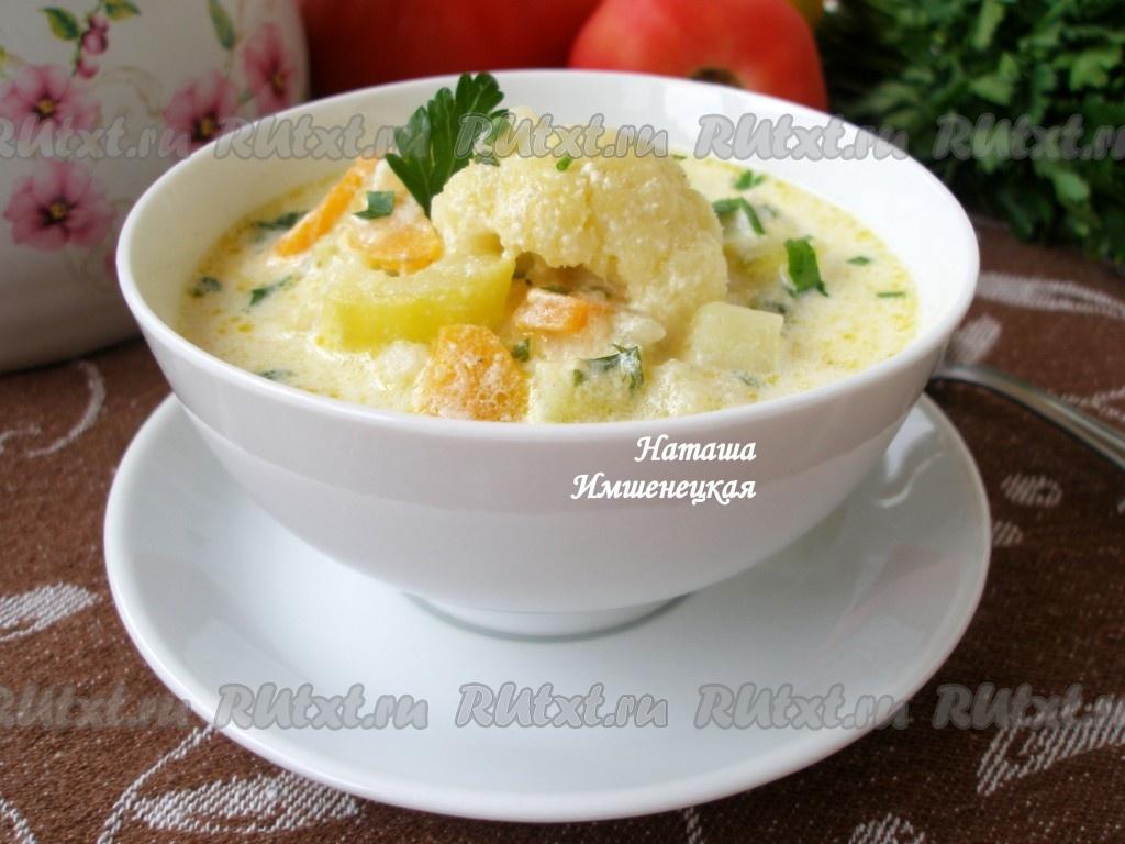 суп с капустой и кабачками