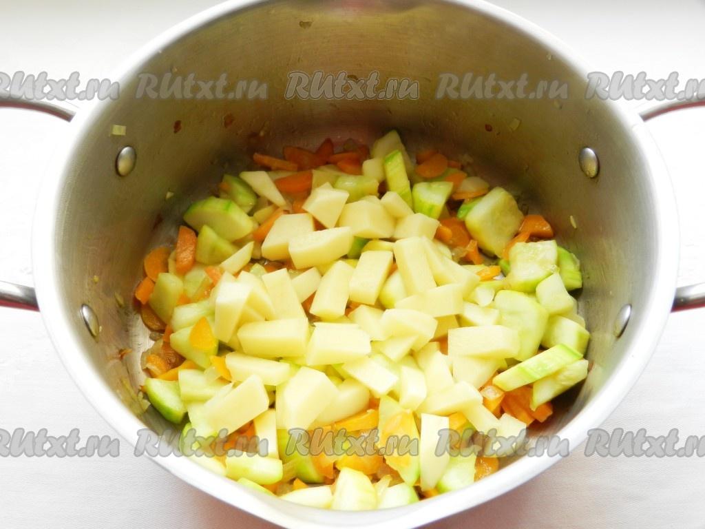 Цветная капуста кабачки рецепт