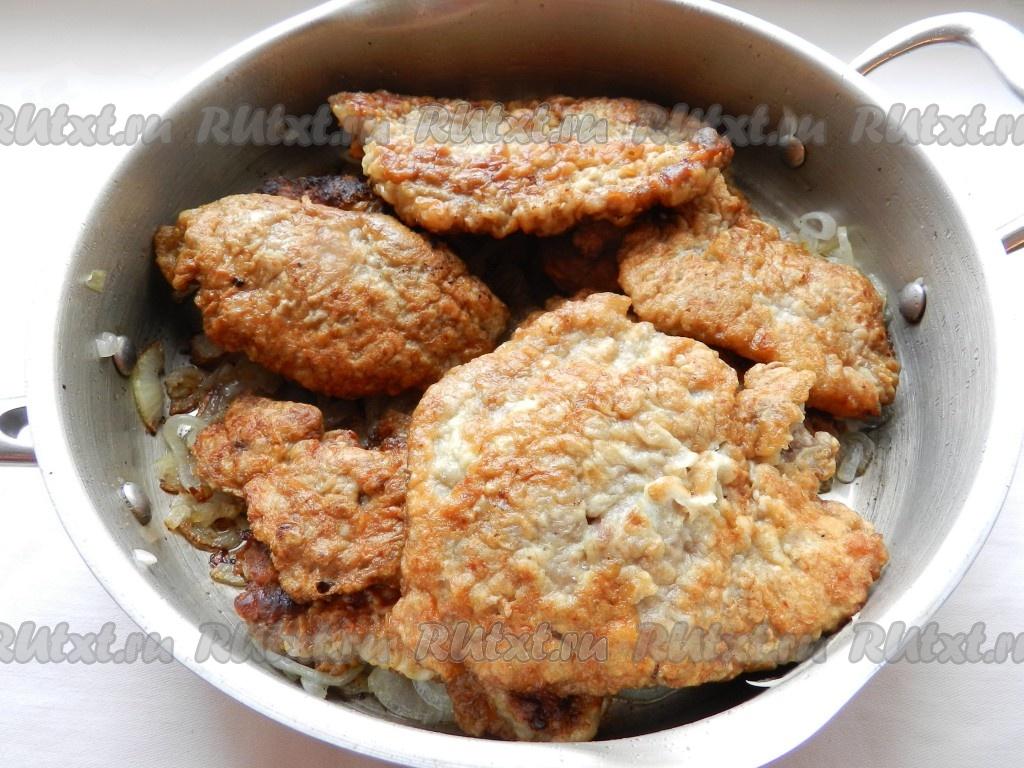 отбивные из свинины в кляре рецепт с фото в духовке